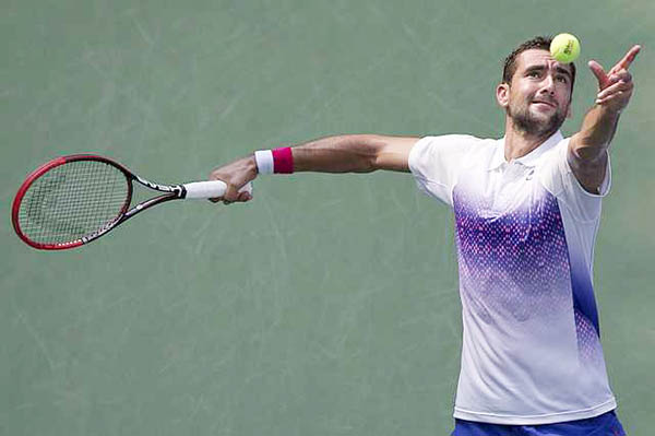 US Open: Cilic enters third round