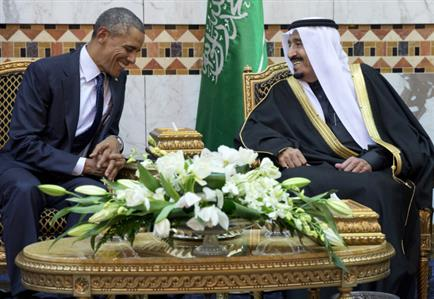 Saudi king to meet with Obama amid Gulf concerns over Iran deal