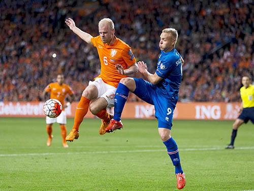 Iceland shock Netherlands