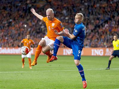 Netherlands lose to Iceland in key European football qualifier