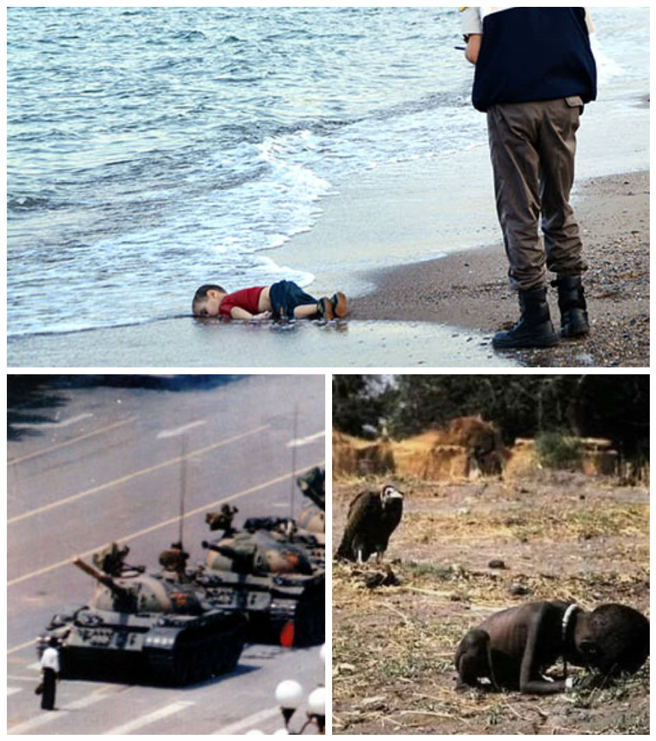 5 powerful pictures that shocked the world