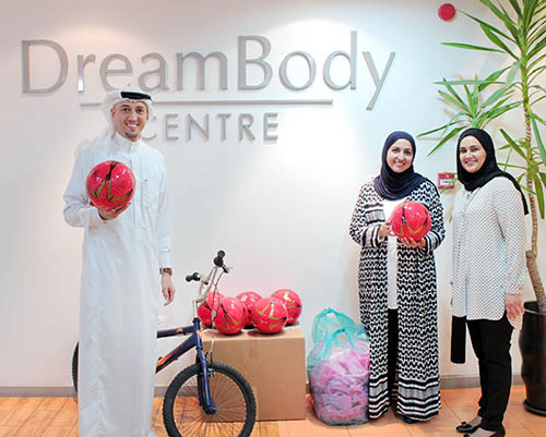 Weight-loss campaign  held at mall