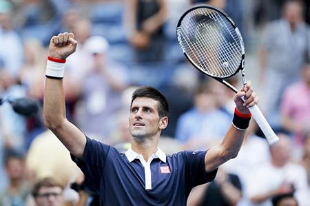 US OPEN: DJOKOVIC ENTERS LAST 16
