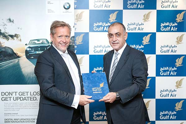 Euro Motors has announced a partnership with Gulf Air