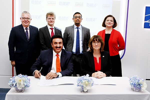 BIBF in key deal with University of Salford
