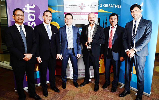 Almoayyed wins Microsoft award