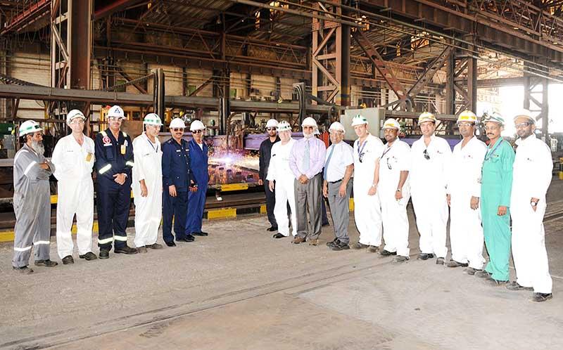 Asry begins Coast Guard landing craft construction