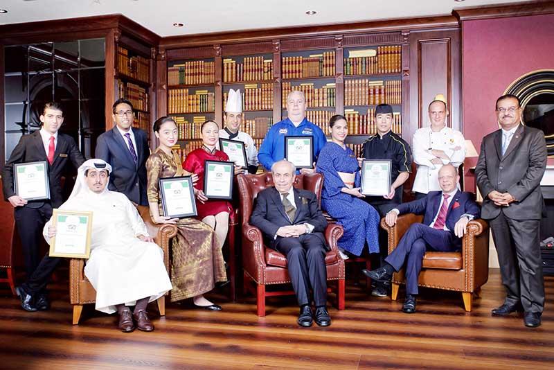 Honour for Gulf Hotel restaurants