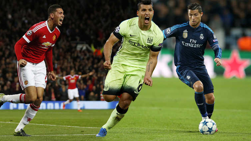 Champions League Results:  Another record for Ronaldo, Manchester clubs seal wins