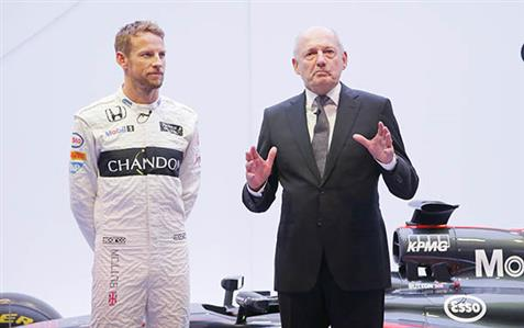 Button to stay on with McLaren next year