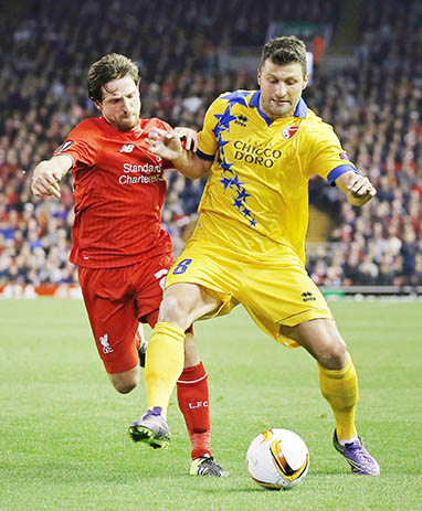 Liverpool held by battling Sion