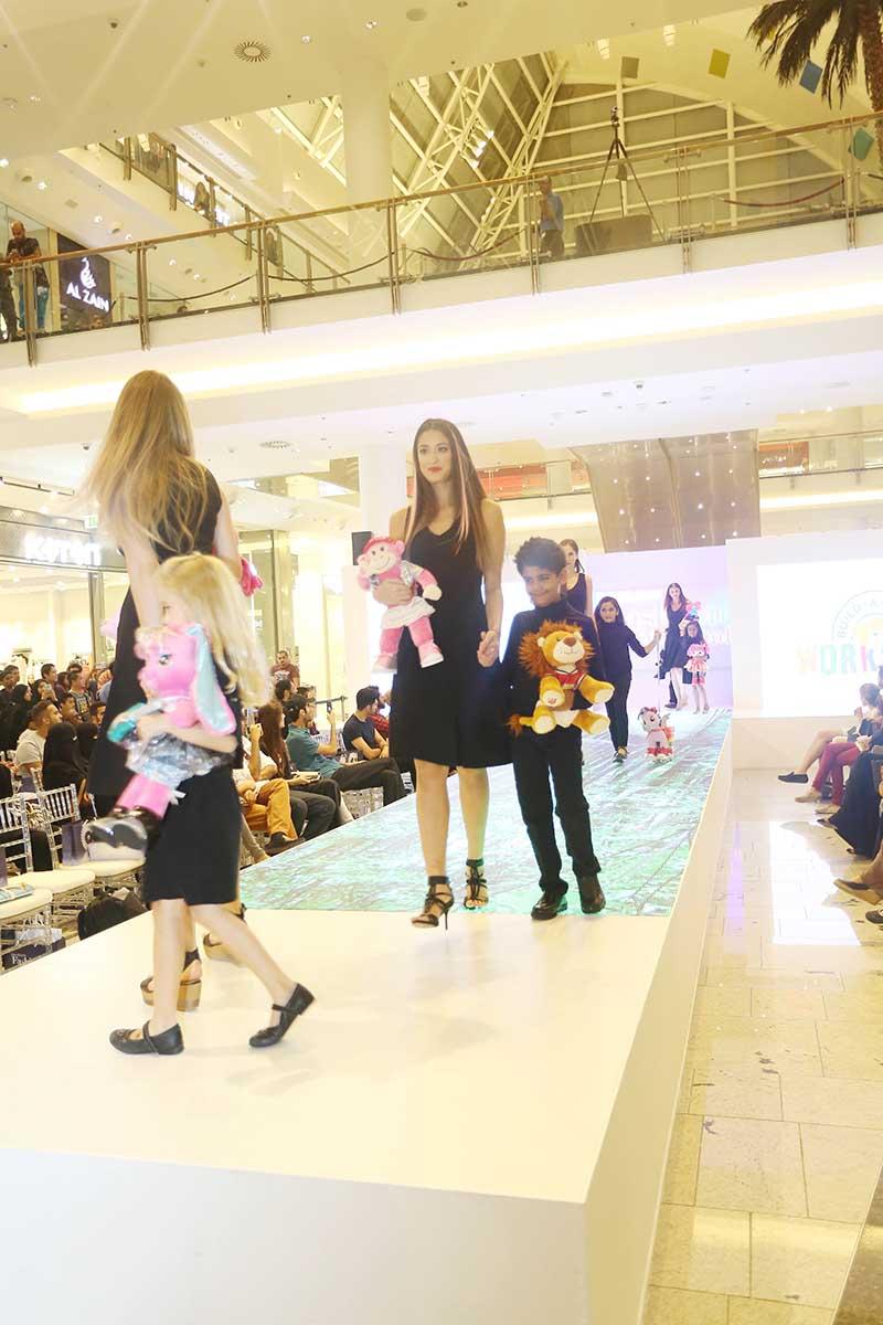 A model fashion show