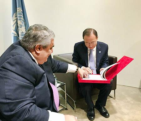 UN complaint filed against Iran