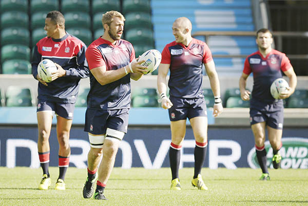 Rugby World Cup: England and Australia set for crunch clash