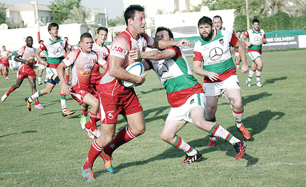 Bahrain win with eight tries