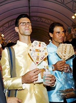 Djokovic beats Nadal in Thai exhibition