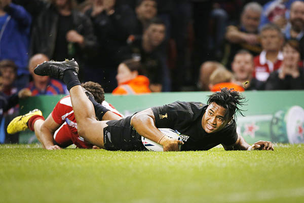 Rugby World Cup: All Blacks advance