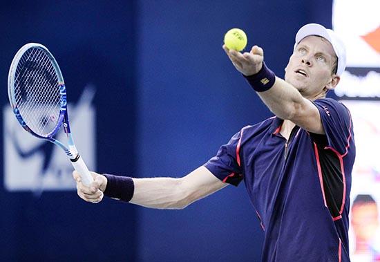Berdych reaches Shenzhen semis