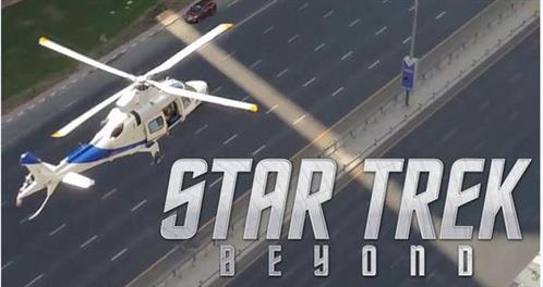 Filming begins in Dubai for new movie 'Star Trek Beyond'