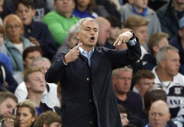 Chelsea boss Mourinho all but throws in title towel