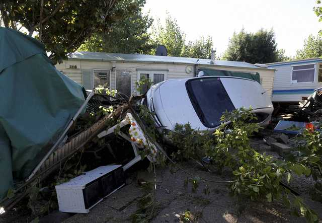 Sixteen dead as heavy flooding hits French Riviera