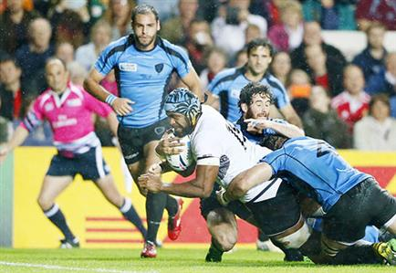 Rugby World Cup: Fiji too hot for brave Uruguay