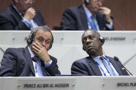 Cameroon's Hayatou to take over as acting FIFA president