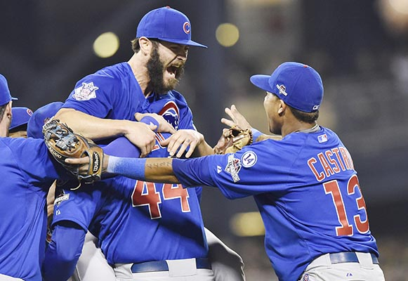 Cubs tame Pirates in Wild Card clash