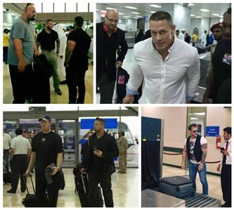 In Pics: WWE stars arrive in Saudi Arabia's Jeddah city for the first live event