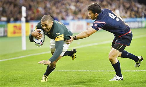 Rugby World Cup: South Africa through