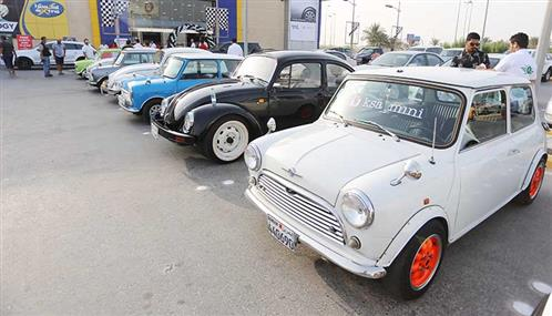 Sports and vintage cars go on display