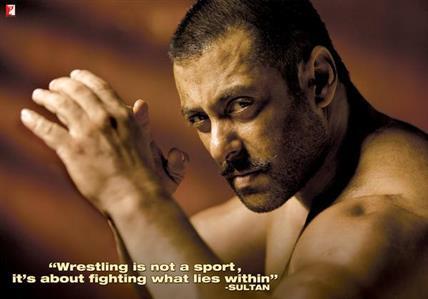 Salman Khan's look in 'Sultan' revealed