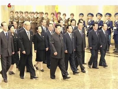 North Korea holds parade for party anniversary