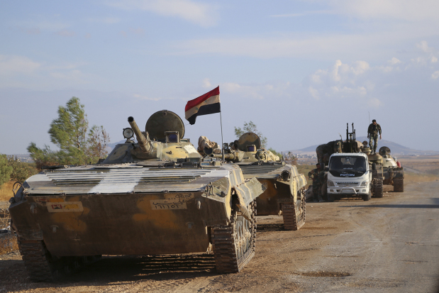 US halts Syrian rebel training effort; to focus on arms supply