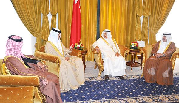 Bahraini forces hailed