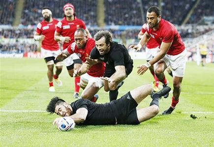 Rugby World Cup: New Zealand stay perfect