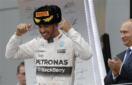 Formula One: Hamilton wins in Sochi, Rosberg retires