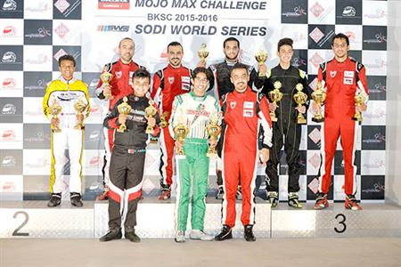 Shaikh Isa shines in karting sprints