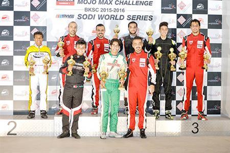 Shaikh Isa shines in karting sprints