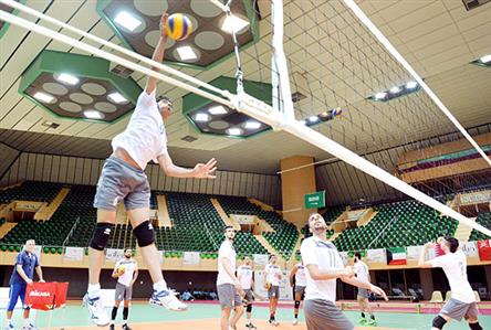 Bahrain set for volleyball opener