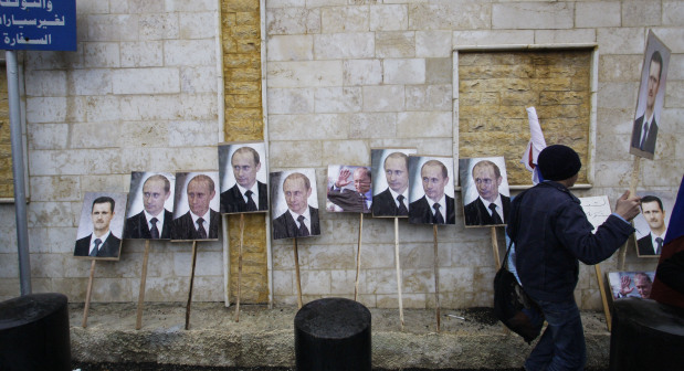 Two rockets hit Russian embassy compound in Damascus