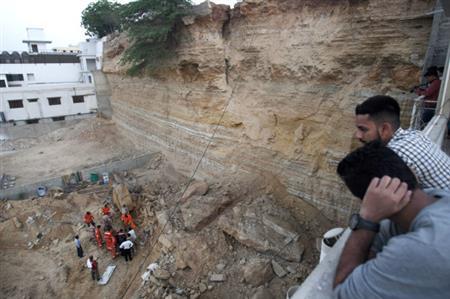 Seven children among 13 killed in Pakistan landslide