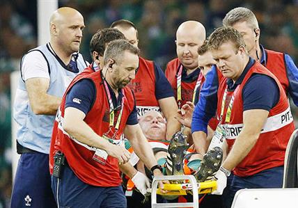 Ireland captain O'Connell out of Rugby World Cup