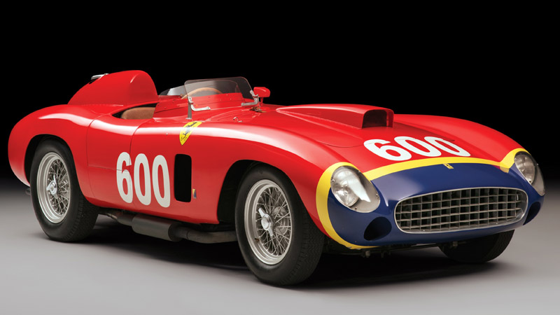 Ferrari built for Formula One legend to be auctioned off