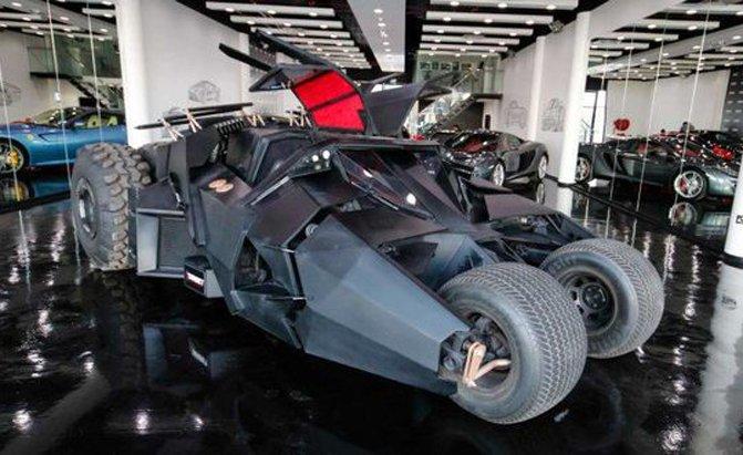 Middle East News: UAE: Batman's Tumbler Batmobile replica for sale in Dubai for $1M!
