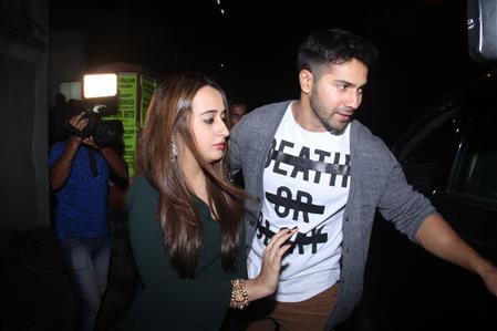 In Pics: Varun Dhawan takes his girlfriend on a date