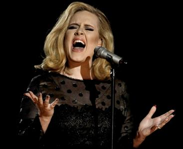 Adele album on track for record sales