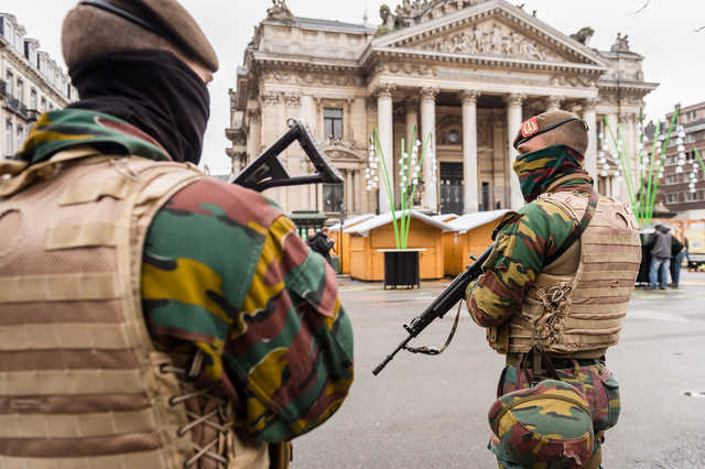 Belgium detains five more people in raids