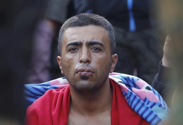 Stranded migrants block railway, call hunger strike
