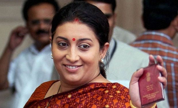 India: HRD Minister Smriti Irani gets into twitter war with journalist over quotas